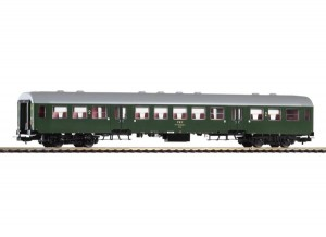 Wagon osobowy 4 os. 2 kl. 120A Bwixd PKP 443-9 ep. IVb, skala H0, PIKO 96649-5