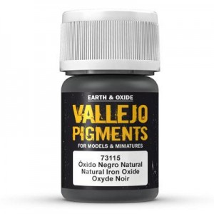 Pigment - Natural Iron Oxide - 30 ml, Vallejo 73115