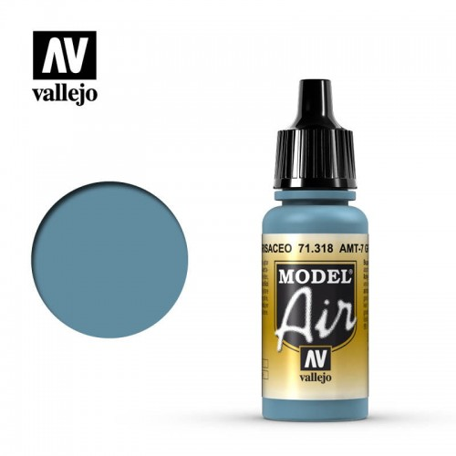 Farba akrylowa Model Air Greyisch Blue 17ml, Vallejo 71318